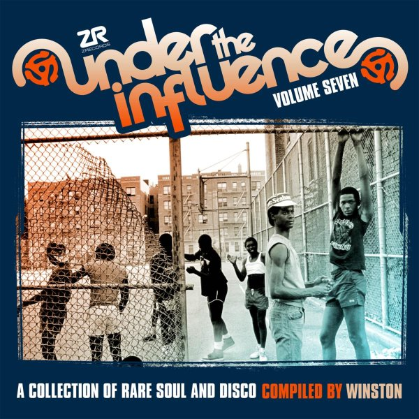 Various : Under The Influence Vol 7 – A Collection Of Rare Soul & Disco  Compiled By Winston (LP, Vinyl record album)